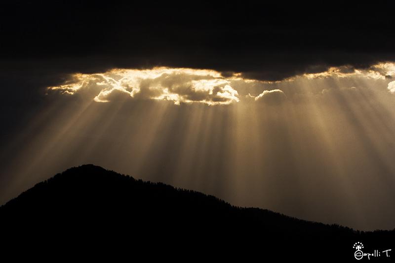 Rayons de soleil sur le bac charvet