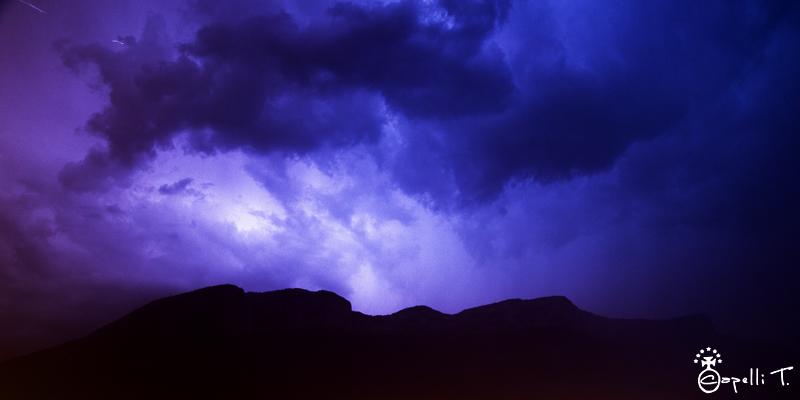 ciel orageux sur le vercors - thomascapelli.fr