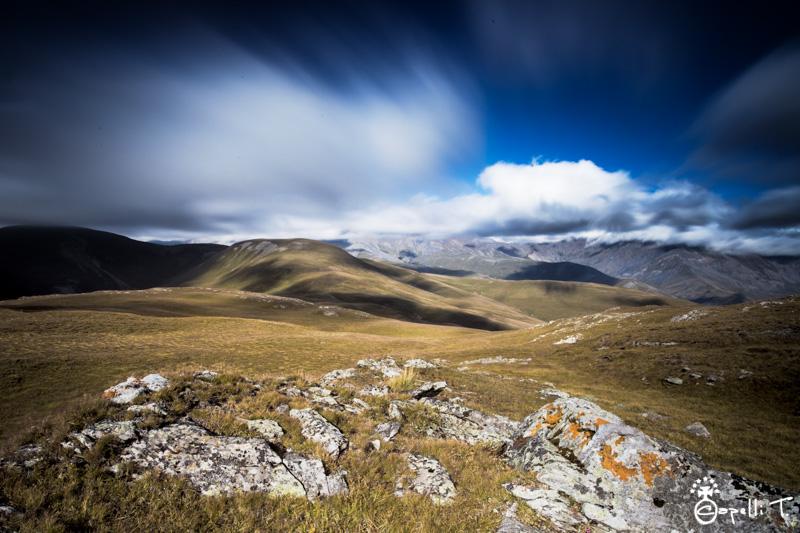 photos du plateau d'emparis au dessus de besse en oisan. - Thomas Capelli
