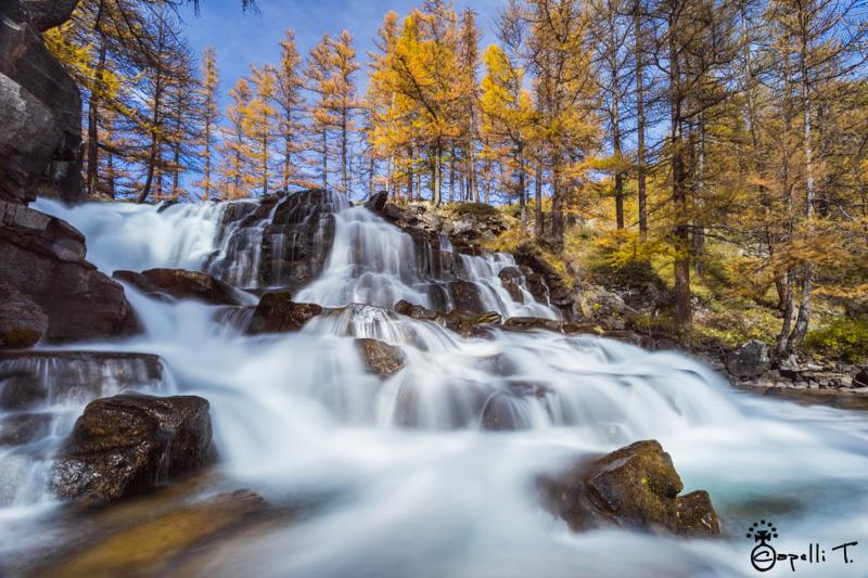cascade de fontcouverte a l'automne - Thomas Capelli