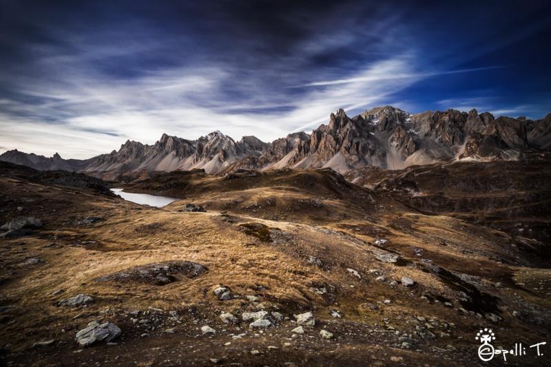 La clarée, les cerces la main de crepin et le lac long - Thomas Capelli
