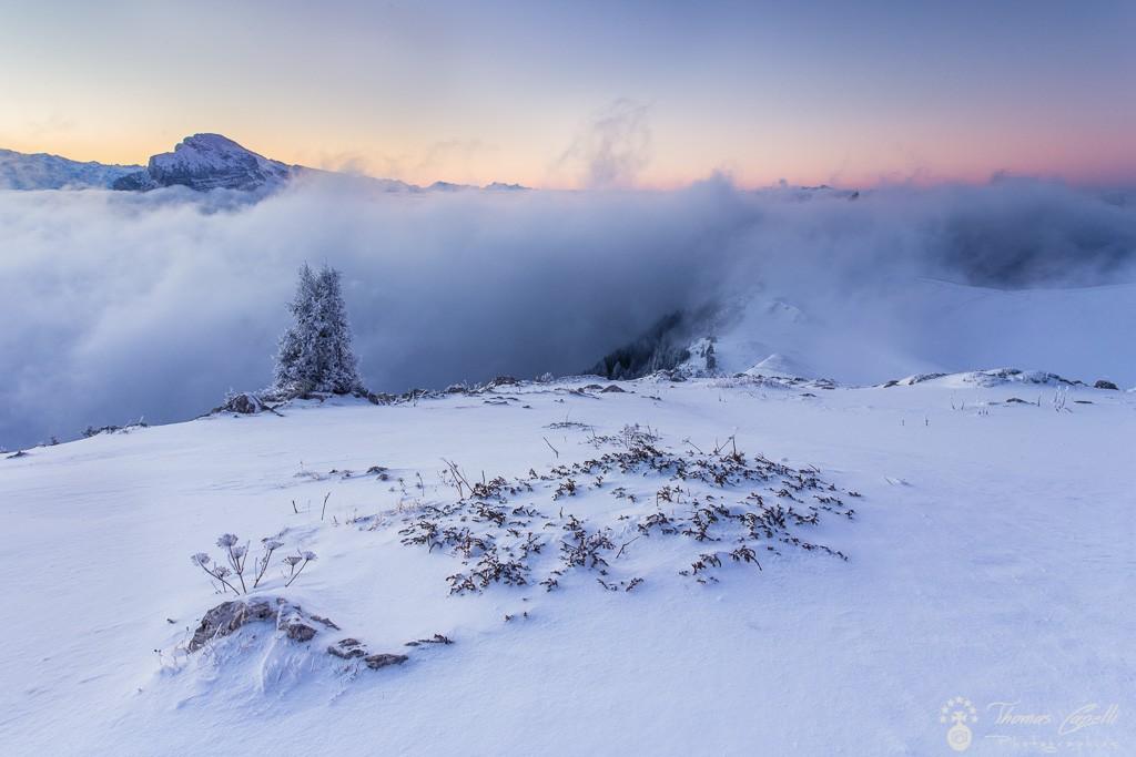 chamechaude sort la tête des nuages  - Thomas Capelli