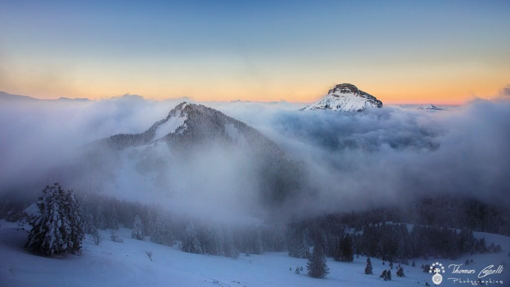 mer de nuages en chartreuse  - Thomas Capelli