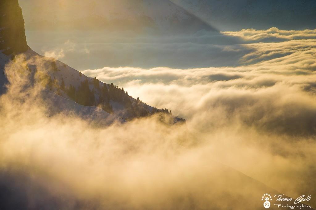 Mer de nuages au col du coq  - Thomas Capelli