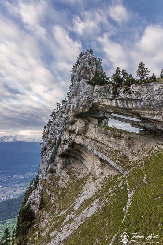 Tour percée, la plus belle des arches de chartreuse  - Thomas Capelli