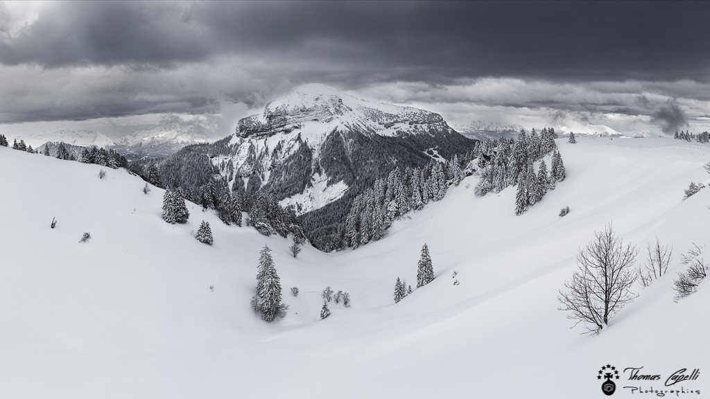 chamechaude en hiver lors d'une sortie de ski - Thomas Capelli