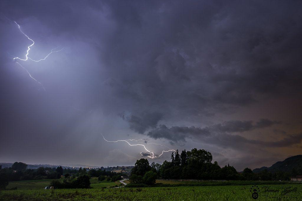 orage sur saint béron - Thomas CAPELLI