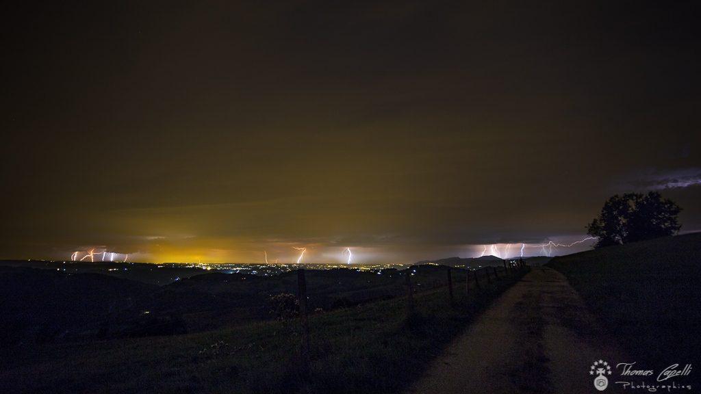 orage parc régional chartreuse - Thomas CAPELLI
