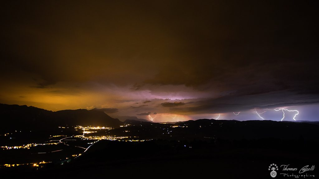 Orage vallée du guiers - Thomas CAPELLI