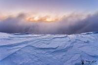 glace et nuages