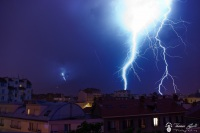 Orages a Grenoble