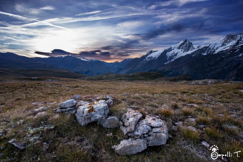 lever de soleil sur le plateau d'emapris
