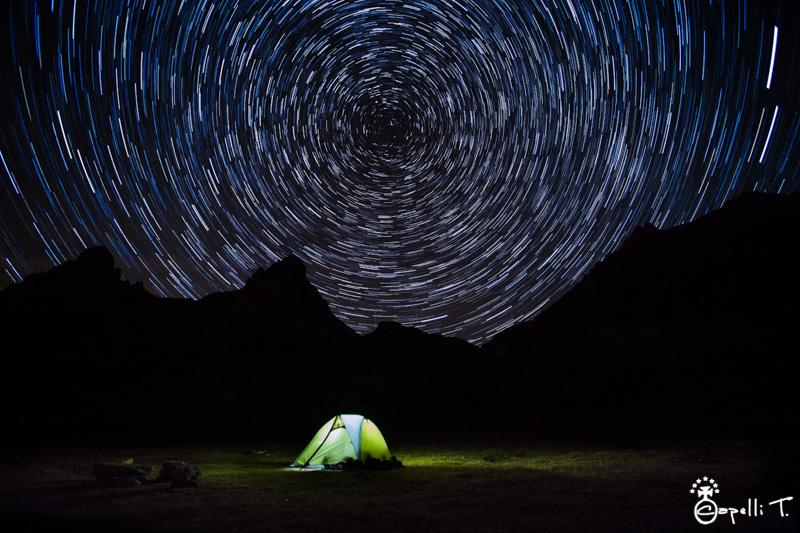 bivouac sous les étoiles au lac des cerces - Thomas Capelli